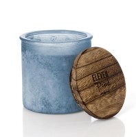 14 oz Compass River Rock Blue Candle Jar