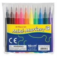 "Pack of 10 4"" Mini Marker Set"