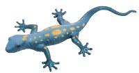 "13"" Blue With Yellow Dots Lizard Squishimal"