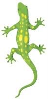 "13"" Green With Yellow Dots Lizard Squishimal"