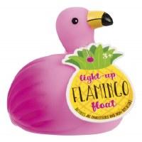 "2"" LED Pink Flamingo Bath Float"