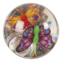 "2"" LED Butterfly Water Ball"