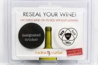 Set of 2 Designated Drinker and Red, Rose, White and Me Wine Bottle Caps