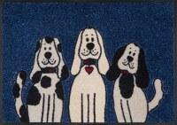 "20"" x 30"" Three Dogs Washable Floor Mat"