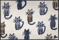 """20"""" x 30"""" Lots o' Cats Washable Floor Mat"""