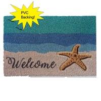 """16"""" x 24"""" Starfish Welcome Doormat"""