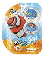 Orange Zwimmers Fish