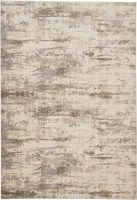 3.9' x 5.7' Silver and Beige Parker 3719F Rug