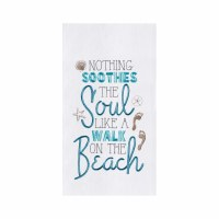 "27"" x 18"" Soothes the Soul Flour Sack Kitchen Towel"