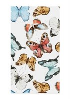 """5"""" x 8"""" Multicolor Butterfly Guest Towels"""