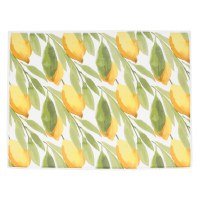 "15"" x 20"" Lemon Microfiber Drying Mat"