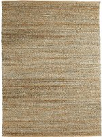 5' x 7.9' Spa Blue Woven Natural Rug