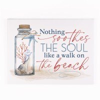 "12"" x 16"" Nothing Soothes the Soul Canvas Wall Art"