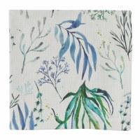 "20"" Square Blue and Green Oceana Cloth Napkin"