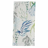 """18"""" x 26"""" Blue and Green Oceana Kitchen Towel"""