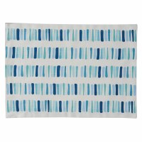 "13"" x 19"" Blue and Aqua Oceana Blocks Placemat"