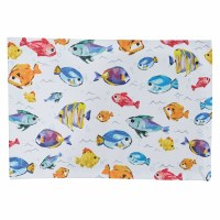 "13"" x 19"" Multicolor Fish Below the Sea Placemat"
