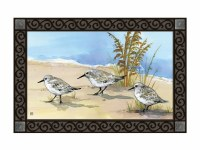 "18"" x 30"" Sandpiper Beach Trio Doormat"