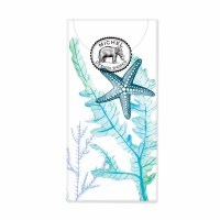 "4"" Pack of Ocean Tide Pocket Tissues"