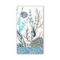 """4"""" x 8"""" Ocean Tide Guest Towels"""
