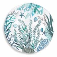 """18"""" Round Large Ocean Tide Melamine Platter"""