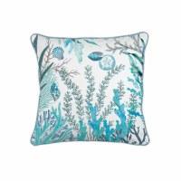 "18"" Square Ocean Tide Pillow"
