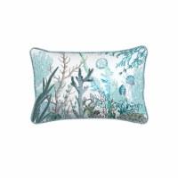"""12"""" x 18"""" Ocean Tide Rectangular Pillow"""