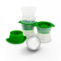 "Set of 3 2.5"" Golf Ball Ice Molds"