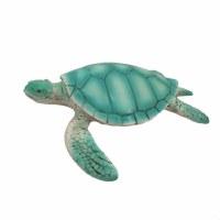"""4"""" Green Polyresin Sea Turtle Figurine"""