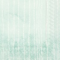 """5"""" Square Green Lots of Dots Beverage Napkin"""