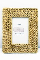 """4"""" x 6"""" Natural Rope Weave Picture Frame"""