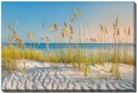 "38"" x 60"" Sand Dune Love The Beach Canvas Wall Art"