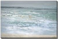 "38"" x 60"" Small Waves Spin Drift Canvas Wall Art"