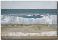 "38"" x 60"" Wave Cresting Spindrift 2 Canvas Wall Art"