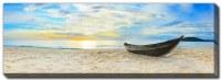 "20"" x 60"" Old Fisherman Boat Canvas Wall Art"