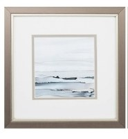 """11"""" Cresting Wave in Silver Frame"""