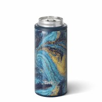 12 oz Swig Starry Night Insulated Skinny Can Cooler