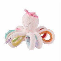"""16"""" Pink Faux Fur Octivity Pal by Mud Pie"""