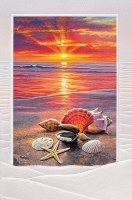 """8"""" x 5"""" Before The Tide Birthday Card"""