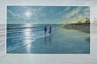 "5"" x 8"" Romantic Moon Anniversary Card"