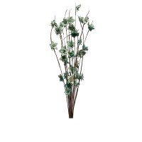 "Bunch of 12 36"" Seafoam Tiny Flower Branches"