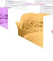 "3"" Yellow Rose Decorative Bath Soap"
