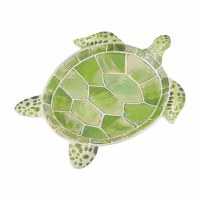 "10"" Green Sea Turtle Dish"