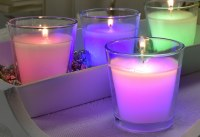 "3"" Paraffin Color Changing Votive Candle"