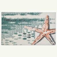 "22"" x 34"" Oceanside Starfish Rug"