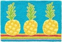 """20"""" x 30"""" Pineapple Fiesta Rug"""