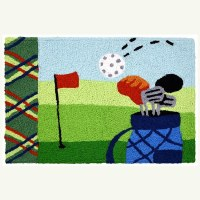 """20"""" x 30"""" Hole In One Rug"""