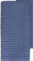 "28"" x 18"" Ritz Federal Blue Terry Cotton Kitchen Towel"
