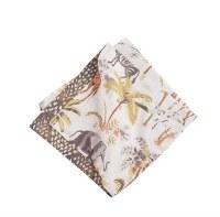 """20"""" Square Multicolor Nico Safari Cloth Napkin"""