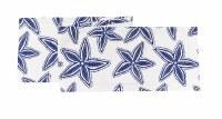 """13"""" x 72"""" Navy and White Starfish Table Runner"""